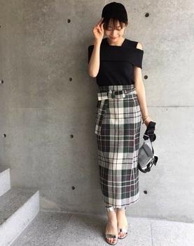 チエックタイトスカート8.jpg