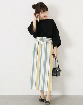 マルチストライプタイトスカート5.jpg