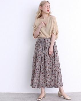 花柄ロングスカート5.jpg