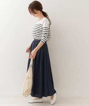 サテンギャザースカート1.jpg