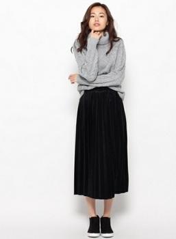 タートルネックケーブル編みセーター7.jpg