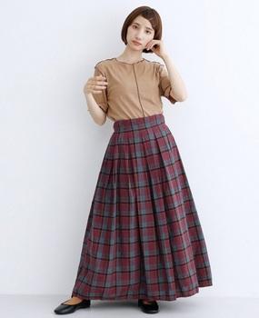 チェックマキシスカート5.jpg