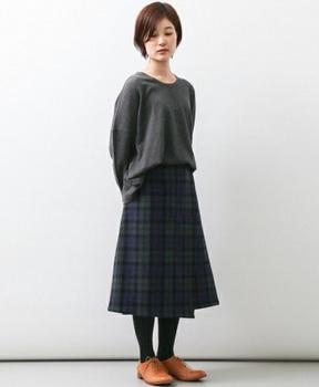 チェックラップスカート1.jpg